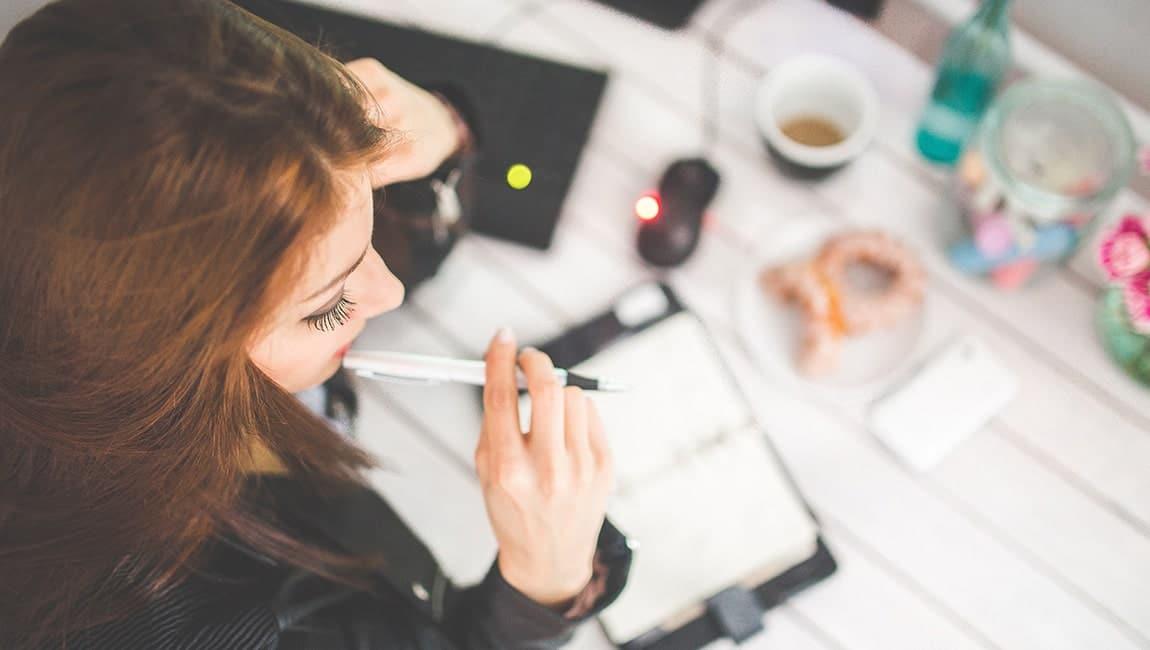 Weg met stress met een takenlijst